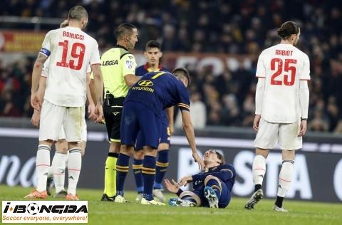 Đội hình Juventus vs AS Roma 1h45 ngày 2/8