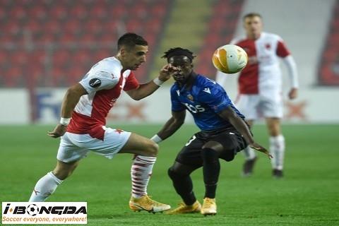 Nice vs Slavia Praha 3h ngày 27/11