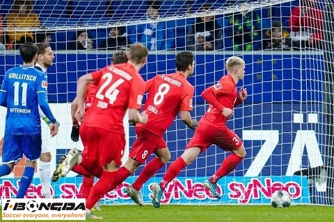 Bóng đá - Augsburg vs Hoffenheim 20h30 ngày 14/8