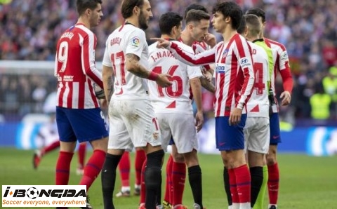 Đội hình Atletico Madrid vs Sevilla 3h30 ngày 13/1