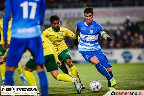 Bóng đá - Zwolle vs Fortuna Sittard 2h ngày 17/1