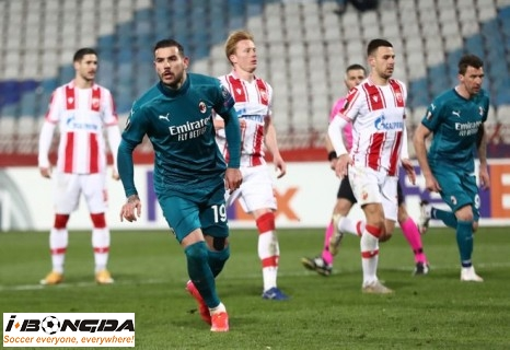 AC Milan vs Crvena Zvezda 3h ngày 26/2