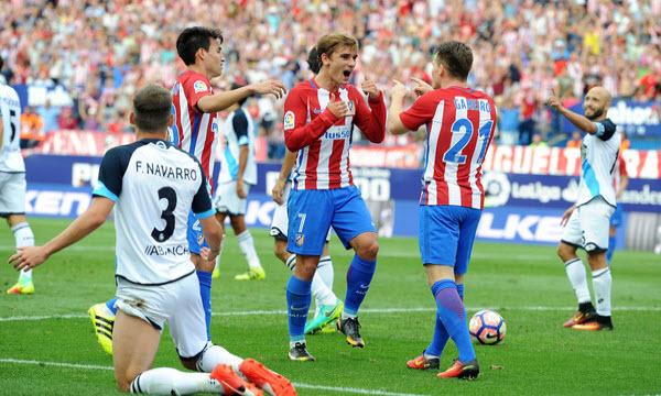 Bóng đá - Atletico Madrid vs Deportivo La Coruna 01h45, ngày 02/04