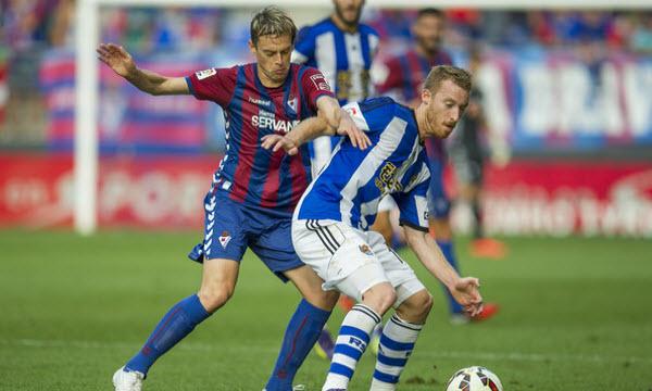 Bóng đá - Eibar vs Real Sociedad 23h30, ngày 01/04