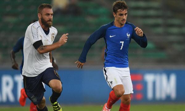 Bóng đá - Pháp vs Italia 02h00, ngày 02/06