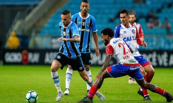 Bóng đá - Bahia(BA) vs Gremio (RS) 05h15 ngày 18/07
