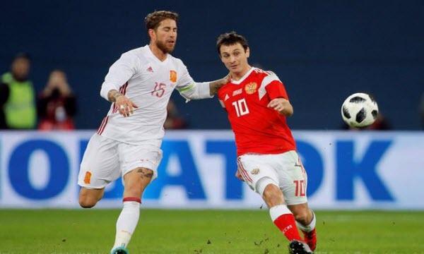 Bóng đá - Nga vs Tây Ban Nha 21h00, ngày 01/07