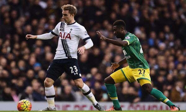 Bóng đá - Tottenham Hotspur vs Norwich City 02h45 ngày 05/03