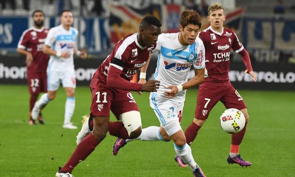 Bóng đá - Marseille vs Metz 27/09/2020 02h00