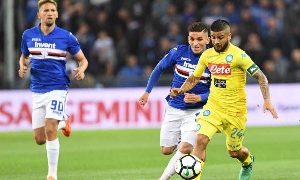 Bóng đá - Napoli vs Sampdoria 22h59 ngày 14/09