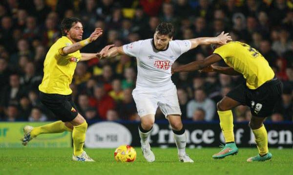Nhận định dự đoán Derby County vs Watford 1h45 ngày 17/10