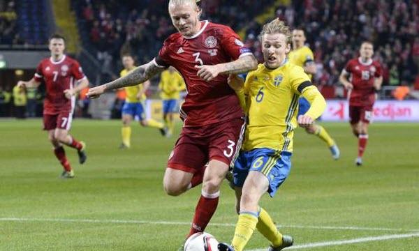 Bóng đá - Thụy Điển vs Đan Mạch 00h45, ngày 03/06