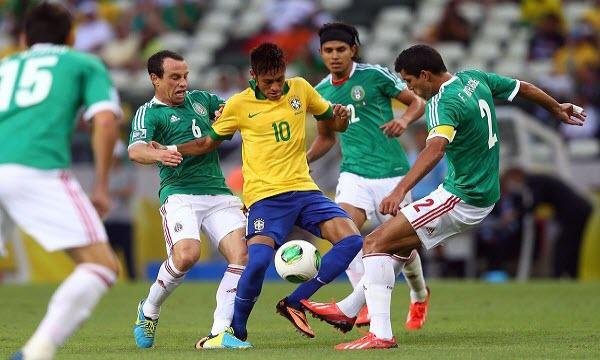 Bóng đá - Brazil vs Mexico 21h00, ngày 02/07