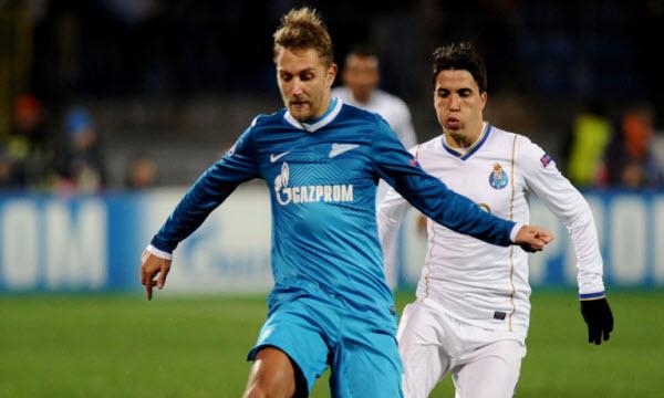 Thông tin trước trận Zenit St.Petersburg vs Arsenal Tula