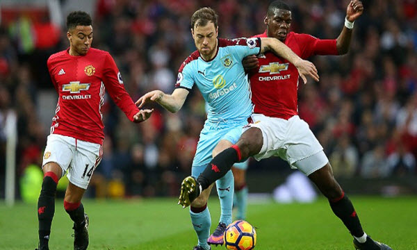 Bóng đá - Manchester United vs Burnley 30/01/2019 03h00