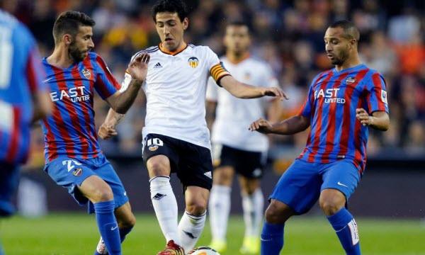 Bóng đá - Valencia vs Levante 15/04/2019 01h45