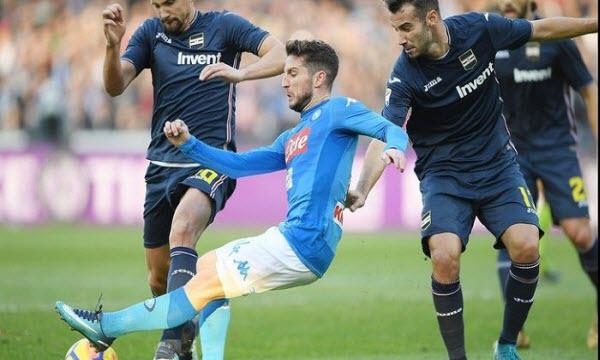 Bóng đá - Sampdoria vs Napoli 01h30, ngày 03/09