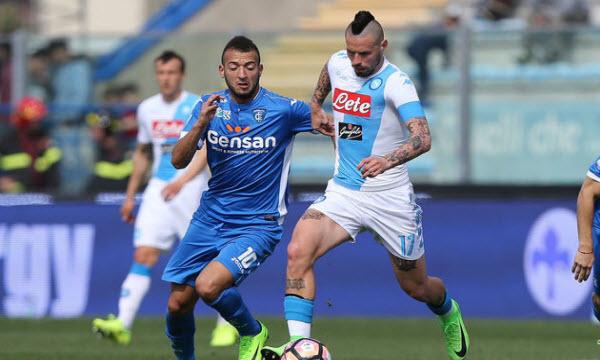 Bóng đá - Napoli vs Empoli 02h30 ngày 03/11
