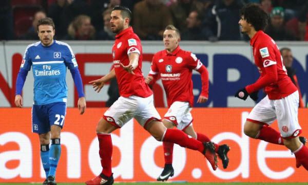 Bóng đá - Hamburger vs Mainz 05 21h30, ngày 03/03