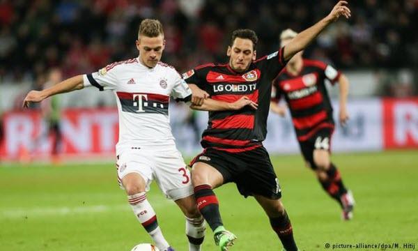 Bóng đá - Wolfsburg vs Bayer Leverkusen 26/01/2019 21h30