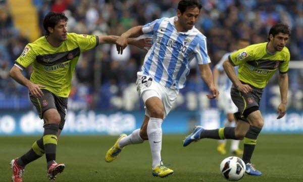 Bóng đá - Malaga vs Espanyol 21h00, ngày 03/04