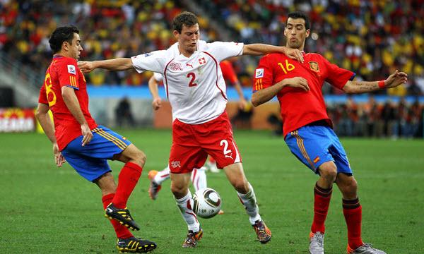Bóng đá - Tây Ban Nha vs Thụy Sỹ 02h00, ngày 04/06