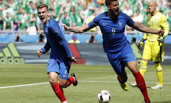 Bóng đá - Thông tin trước trận: Pháp vs Iceland