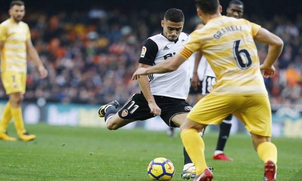 Bóng đá - Girona vs Valencia 10/03/2019 22h15