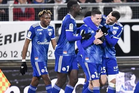 Bóng đá - Strasbourg vs Stade Brestois 20h ngày 29/8
