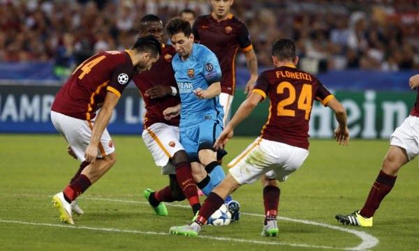 Bóng đá - Barcelona vs AS Roma 01h45, ngày 05/04