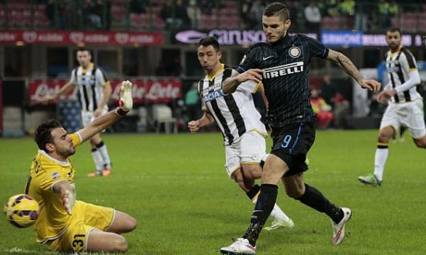 Bóng đá - Udinese vs Inter Milan 01h30 ngày 05/05
