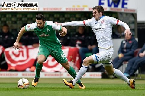 Bóng đá - Werder Bremen vs Mainz 05 21h30 ngày 30/03