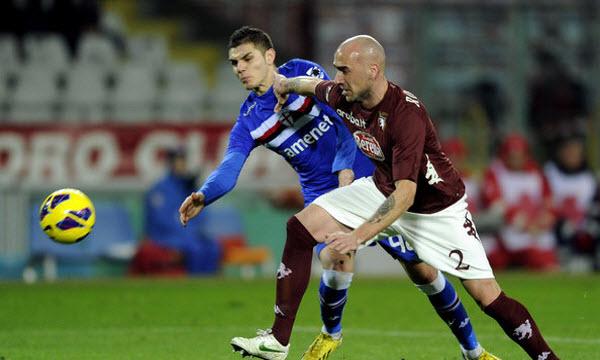 Bóng đá - Sampdoria vs Torino 20h00 ngày 22/09