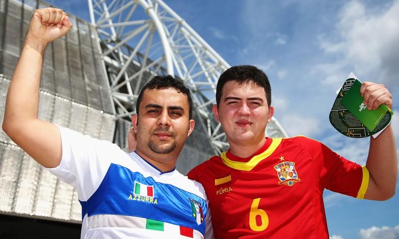 Bóng đá - Tây Ban Nha - Italia, giao hữu quốc tế 2014