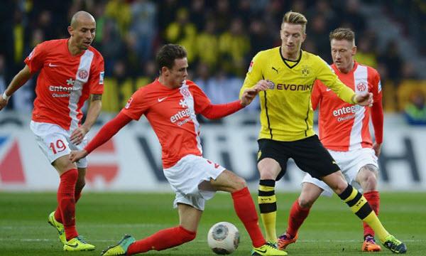 Bóng đá - Borussia Dortmund vs Mainz 05 20h30, ngày 05/05
