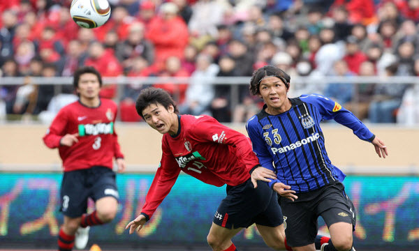 Bóng đá - Kashima Antlers vs Gamba Osaka 17h00 ngày 23/08