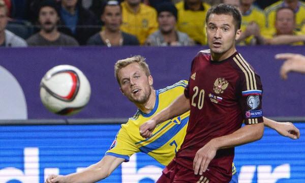 Bóng đá - Nga vs Thụy Điển 22h59, ngày 05/09