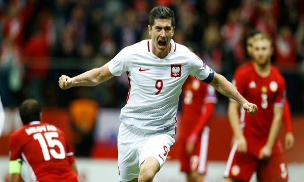 Bóng đá - Armenia vs Ba Lan 23h00, ngày 05/10