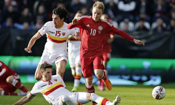 Bóng đá - Montenegro vs Đan Mạch 01h45, ngày 06/10