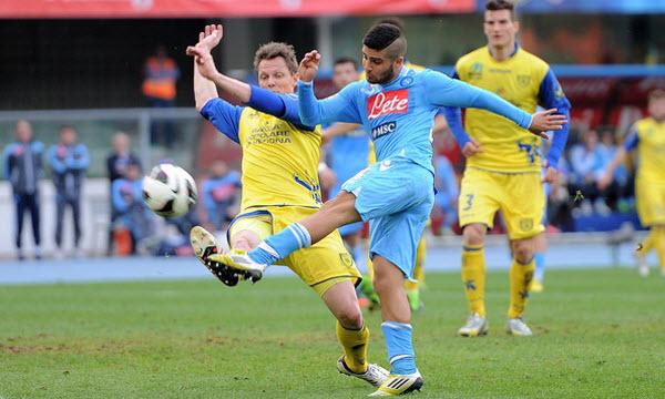Bóng đá - Chievo vs Napoli 21h00, ngày 05/11