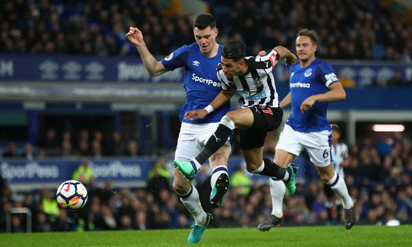 Bóng đá - Newcastle United vs Everton 09/03/2019 22h00