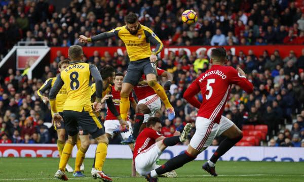 Bóng đá - Arsenal vs Manchester United 02h55 ngày 26/01
