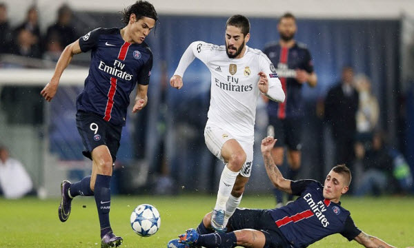 Bóng đá - Paris Saint Germain vs Real Madrid 02h45, ngày 07/03