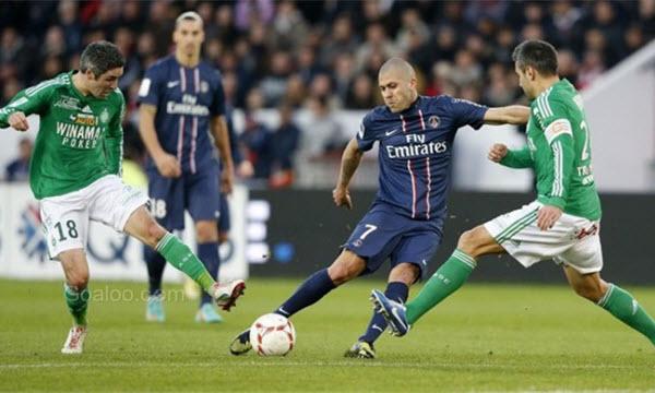 Bóng đá - Saint-Etienne vs Paris Saint Germain 01h45, ngày 07/04