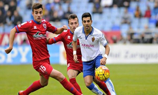 Bóng đá - Numancia vs Zaragoza 13/10/2019 21h00