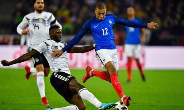 Bóng đá - Đức vs Pháp 01h45, ngày 07/09
