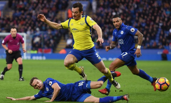 Bóng đá - Everton vs Leicester City 01/01/2019 19h30