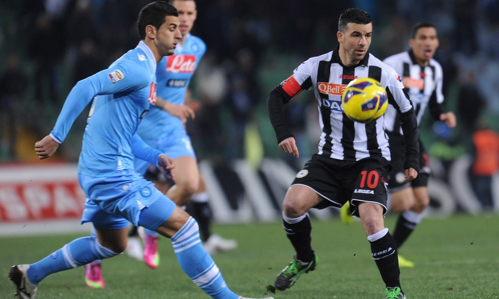 Bóng đá - Napoli vs Udinese: 02h45, ngày 08/12