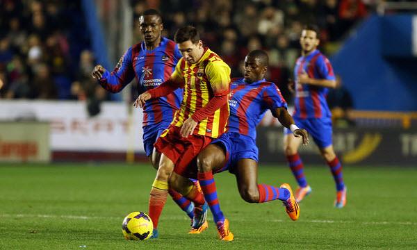 Bóng đá - Levante vs Barcelona 18h00, ngày 07/02
