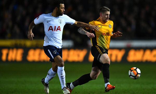 Bóng đá - Tottenham Hotspur vs Newport County 02h45, ngày 08/02